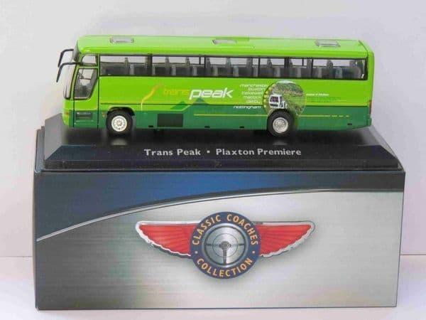 Atlas JE16 1/76 Scale Classic Coaches Plaxton Premiere Trans Peak Coach