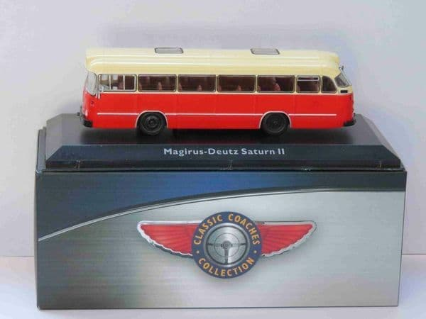 Atlas JE18 1/76 Scale Classic Coaches Magirus-Deutz Saturn II Coach Hamburg