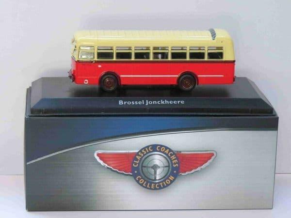 Atlas JE20 1/76 Scale Classic Coaches Brossel A80 Jonckheere Bus Coach Belgium