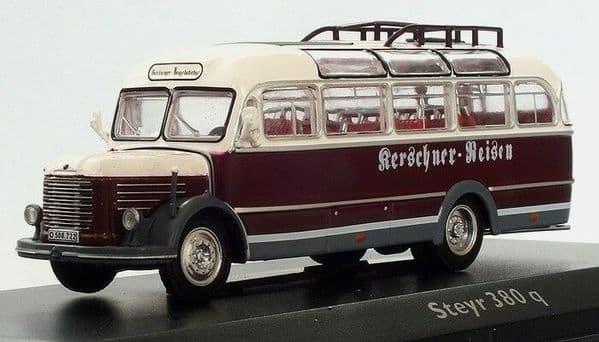 Atlas JE21 1/76 Scale Classic Coaches Steyr 380q Coach Coach Austria