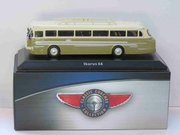 Atlas JE25 1/76 Scale Classic Coaches Ikarus 66 Inter- City Coach Hungary
