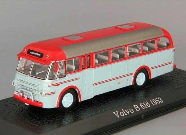 Atlas JE29 1/76 Scale Classic Coaches Volvo 616 Coach 1953 Sweden Abonnerad