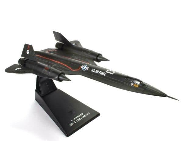 Atlas JK03 1/200 Scale Lockheed SR-71 Blackbird Jet Age Fighter USA US Air Force