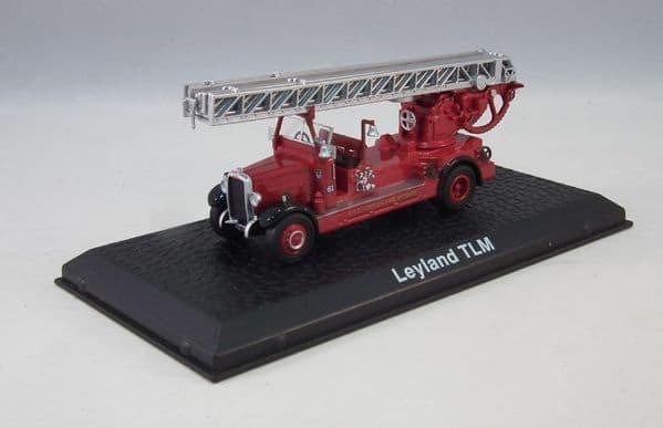 Atlas JW03 1/72 Scale TLM Fire Engine LCC London Fire Brigade