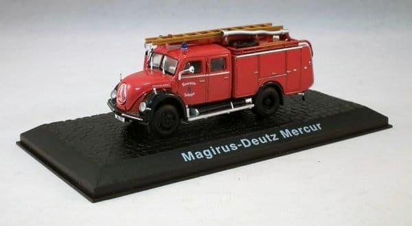 Atlas JW05 1/72 Scale Fire Engine Magirus Deutz Mercur Feuerwehr Solingen