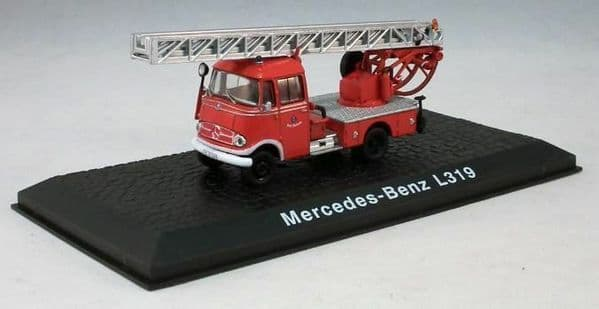 Atlas JW07 1/72 Scale Fire Engine Mercedes-Benz L319 Turntable Ladder Walsrode