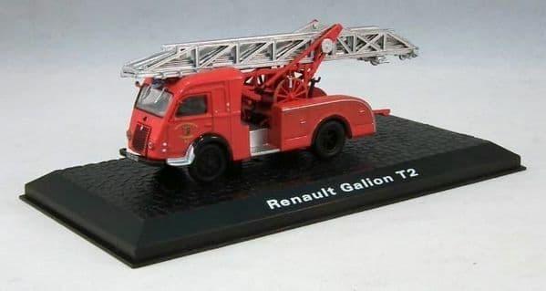 Atlas JW14 1/72 Scale Fire Engine Renault Galion T2 Ladder Colmar Brigade