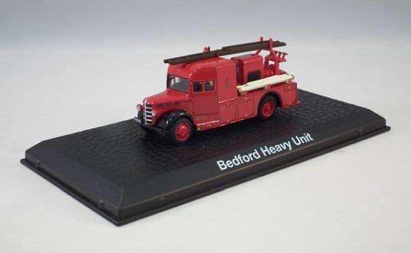 Atlas JW22 1/72 Scale  Fire Engine Bedford Heavy Unit