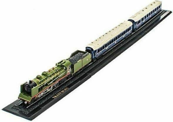 Atlas KB05 Great Trains Z gauge 1/220 Train Bleu France   New Case