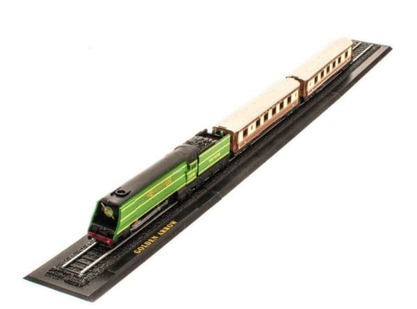 Atlas KB11 Great Trains Z gauge 1/220 Golden Arrow England Brand New in Case