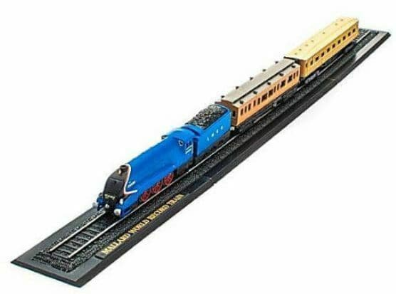 Atlas KB22 Great Trains Z gauge 1/220 Mallard World Record England New in Case