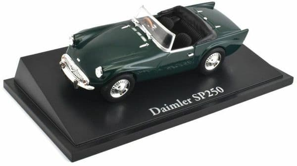 Atlas KL26 1/43 Scale Classic Sports Cars Daimler SP250 - British Racing Green
