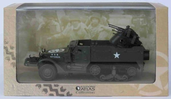 Atlas KP03 1/43 Scale USA American Army M16 Mutliple Gun Motor Carriage Tank