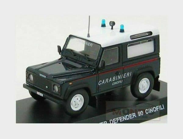 Atlas KR05 1/43 Scale Land Rover Defender 90 - Carabinieri Italian Police 1995