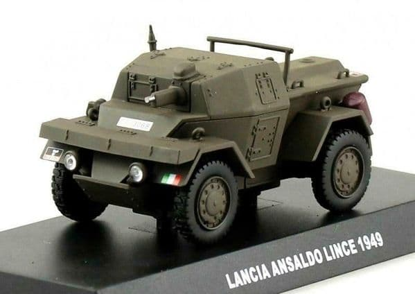Atlas KR17 1/43 Lancia Ansaldo Lince Armoured Car Carabinieri Italian Police