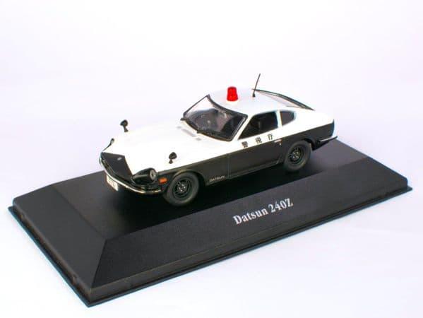 Atlas KW04 1/43 O Scale  Japanese Japan Police Car Datsun 240Z