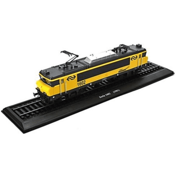 ATLAS LD26 1/87 HO SCALE Serie 1602 (1981) Holland Locomotives of the world