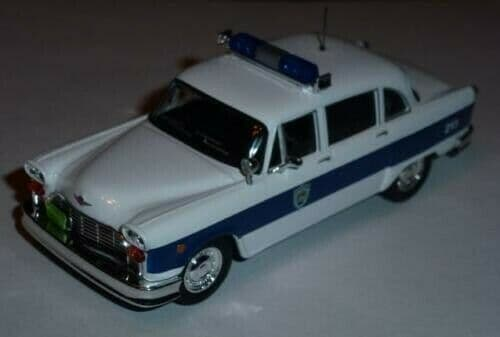 Atlas LH03 1/43 Scale Police Cars Checker Marathon USA New Hampshire MintBlister