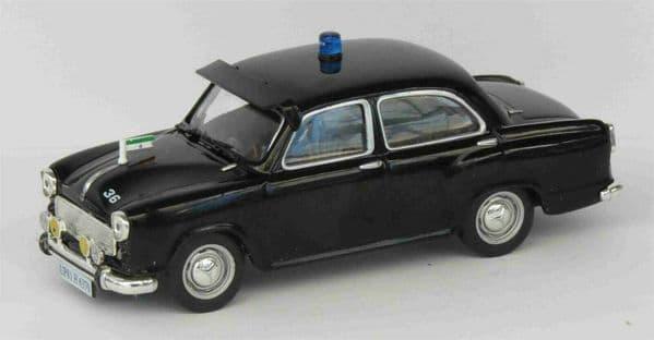Atlas LH17 1/43 Scale Police Cars Hindustan Ambassador India 1958 Minton Blister
