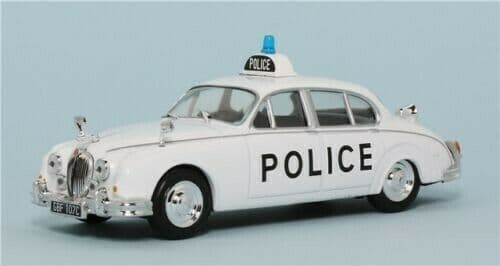 Atlas LH20 1/43 Scale Police Cars Jaguar MK II UK Mint on Blister