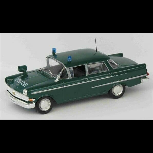 Atlas LH23 1/43 Scale Police Cars Opel Kapitan Germany Mint on Blister
