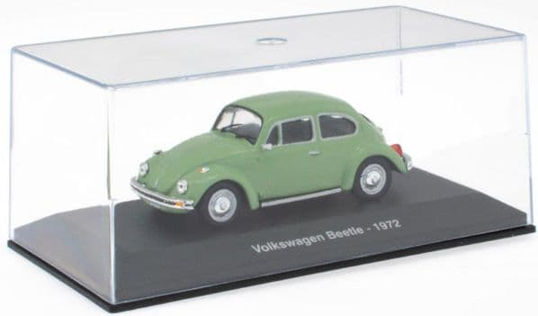 Atlas NA03 1/43 O Scale Volkswagen Beetle - 1972 - Lt Green