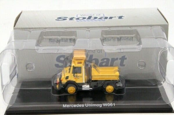 Atlas Oxford JV4105 1/76 Eddie Stobart Rail Mercedes Unimog W061 U1650