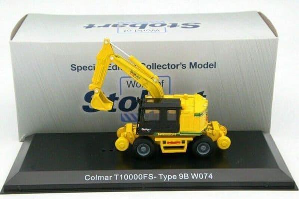Atlas Oxford JV4113 1/76 Eddie Stobart Rail COLMAR T10000FS  TYPE 9B W074 Digger