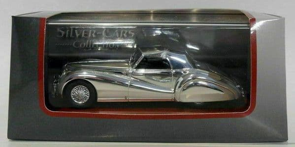 Auto Da Leggenda - Silver Chrome Cars Collection Alfa Romeo 6C 2500 SS