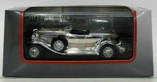 Auto Da Leggenda - Silver Chrome Cars Collection - Auburn Boat Tail