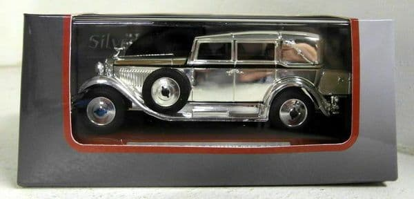Auto Da Leggenda - Silver Chrome Cars Collection Isotta Fraschini Tipo 8