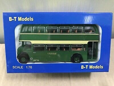 B T Models B111A 1/76 OO Bristol Lodekka LD Bus Open Door Crosville  K20 Station MIMB