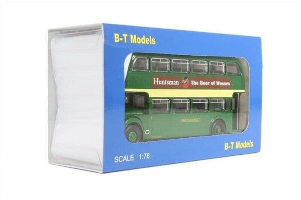 B T Models B115A Bristol Lodekka LD6G Bus Hants & Dorset Southampton Open Door