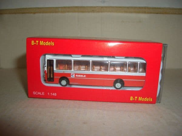 B T Models NB003 N Gauge Leyland Leopard Duple Dominant Coach Ribble NBC