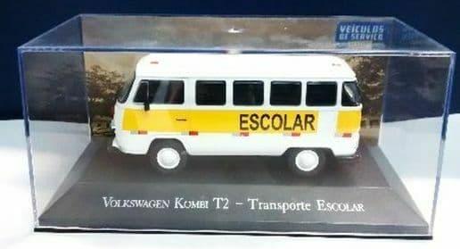 Brazilian Brazil KM01 1/43 SCALE Volkswagen VW Kombi T2 Escolar School Bus