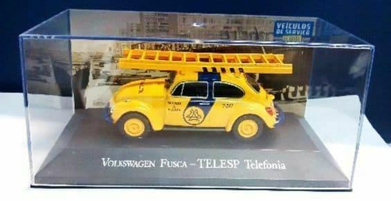 Brazilian Brazil KM03 1/43 SCALE Volkswagen VW Beetle Fusca Telesp Telefonia