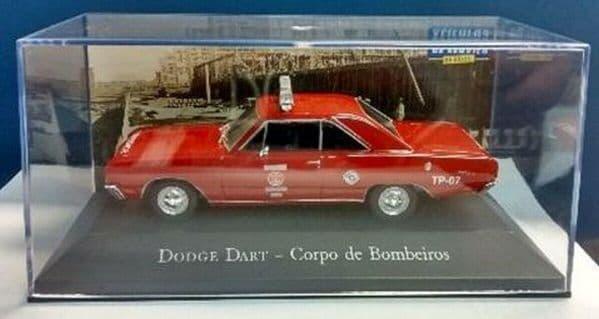 Brazilian Brazil KM07 1/43 SCALE Dodge Dart Corpo de Bombeiros Fire Brigade