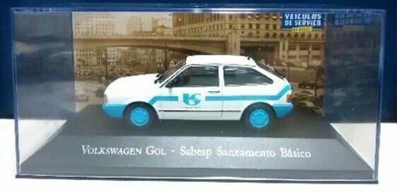 Brazilian Brazil KM15 1/43 SCALE VW Golf 89 Sabesp Agua E Esgoto Water Company