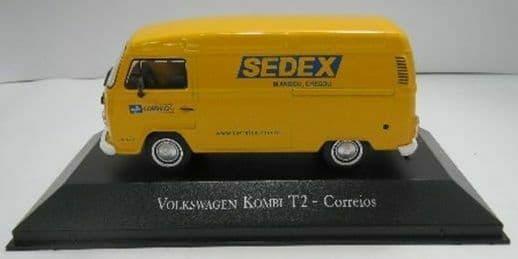 Brazilian Brazil KM24 1/43 SC Volkswagen VW Kombi T2 Correios SEDEX Post Office