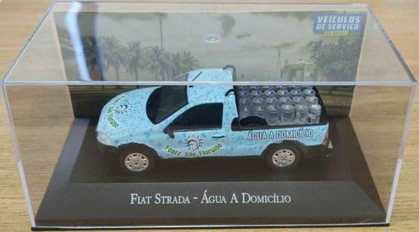 Brazilian Brazil KM98 1/43 SCALE Fiat Strada Pick-up Agua Dom Water bottle load