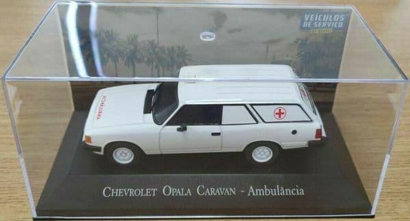 Brazilian Brazil KM99 1/43 SCALE Chevrolet Opala Caravan Ambulance Ambulancia