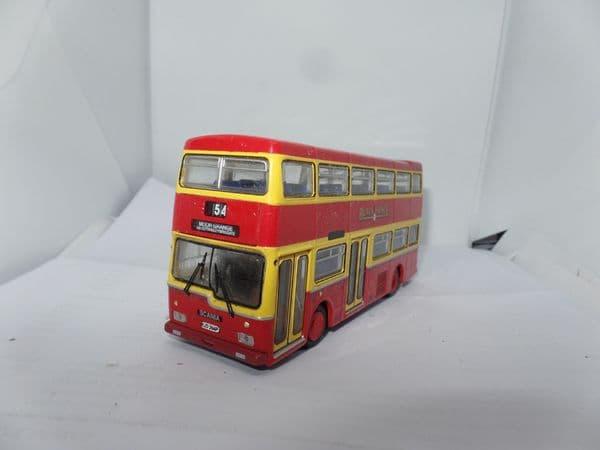 Britbus N6202 N6202x-BP 1/76 OO Scale Scania Metropolitan Bus Black Prince UB FAULT