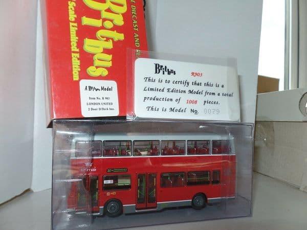 Britbus R903 Volvo Olympian Alexander London United Route 267 Hammersmith MIMB