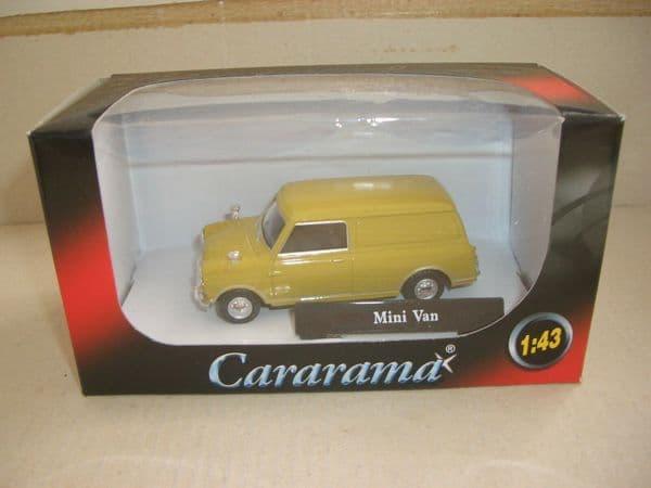 Cararama 1/43 O Scale 251052  Minivan Mini Van Green Brown Limeflower Mustard ?