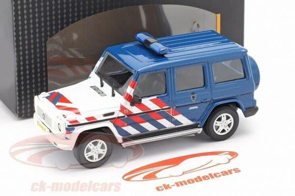 Cararama 1/43 O Scale 4-53341 Mercedes Benz G-Class Military Police Netherlands