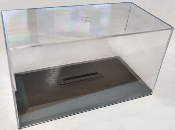 Cararama 1/43 Scale Empty Display Case for 1/43 Car or 1/76 Bus or Truck Slot TALL CASE