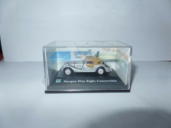 Cararama 1/72 Scale  Morgan Eight Plus Cabrio Silver