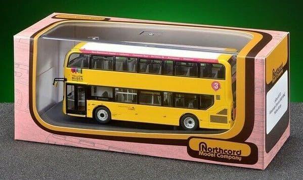 CMNL UKBUS6510 Dennis Enviro 400 MMC Bus Yellow Buses Bournemouth