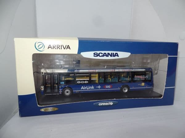CMNL UKBUS7008 Scania OmniCity Bus Arriva Merseyside Liverpool Airlink 500 MIMB