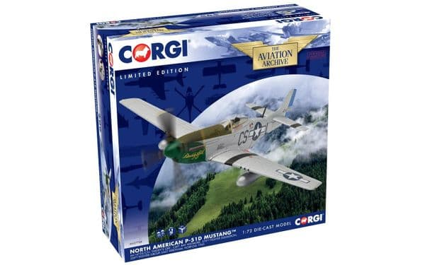 CORGI  AA27704 1/72   North American Mustang P-51D USAF Captain Ray Wetmore Daddy's Girl